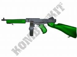 M811 Electric Airsoft Rifle M1A1 Tommy Replica BB Machine Gun 2 Tone Colours